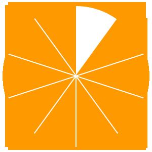 Maths Fractions Game Option - nine tenths