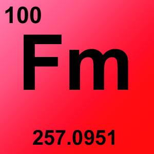 Periodic Table Element Game Option - fermium