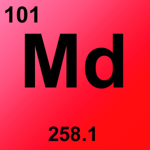 Periodic Table Elements Game Option - mendelevium