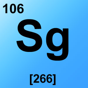 Periodic Table Elements Game Option - seaborgium