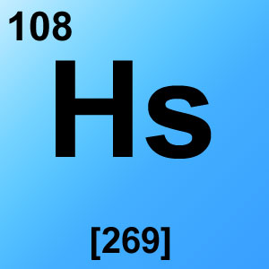Periodic Table Elements Game Option - hassium