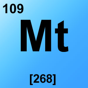 Periodic Table Elements Game Option - meitnerium