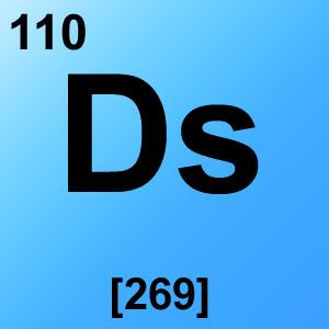 Periodic Table Elements Game Option - darmstadtium