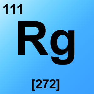 Periodic Table Element Game Option - roentgenium