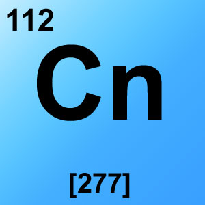 Periodic Table Element Game Option - copernicium