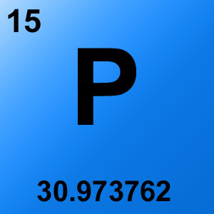 Periodic Table Elements Game Option - phosphorus
