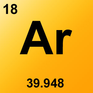 Periodic Table Elements Game Option - argon