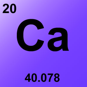 Periodic Table Elements Game Option - calcium