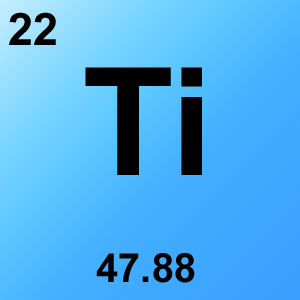 Periodic Table Elements Game Option - titanium