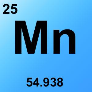 Periodic Table Elements Game Option - manganese