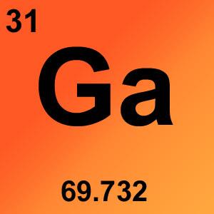 Periodic Table Elements Game Option - gallium