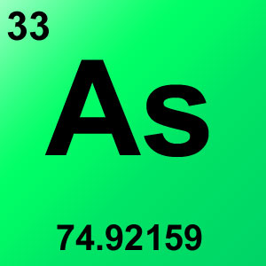 Periodic Table Elements Game Option - arsenic