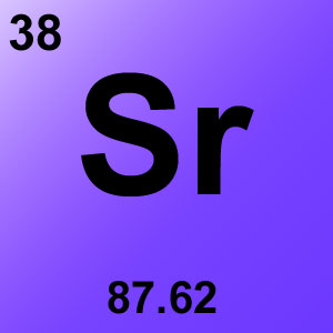 Periodic Table Element Game Option - strontium