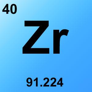 Periodic Table Element Game Option - zirconium