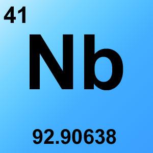 Periodic Table Elements Game Option - niobium