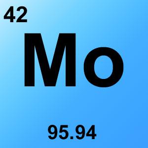Periodic Table Elements Game Option - molybdenum