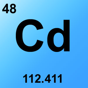 Periodic Table Elements Game Option - cadmium