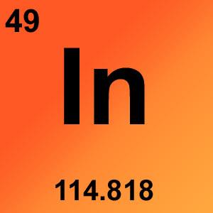 Periodic Table Element Game Option - indium