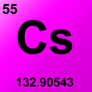 Periodic Table Elements Game Option - cesium
