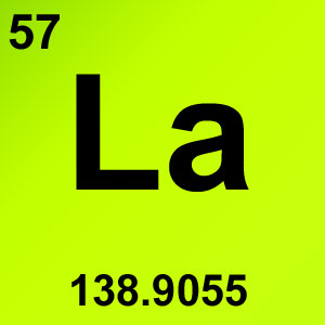 Periodic Table Elements Game Option - lanthanum