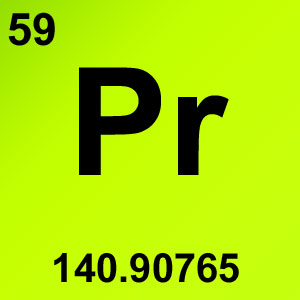 Periodic Table Elements Game Option - praseodymium