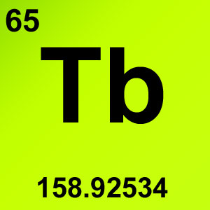 Periodic Table Elements Game Option - terbium