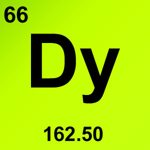 Periodic Table Element Game Option - dysprosium