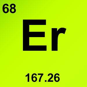 Periodic Table Elements Game Option - erbium