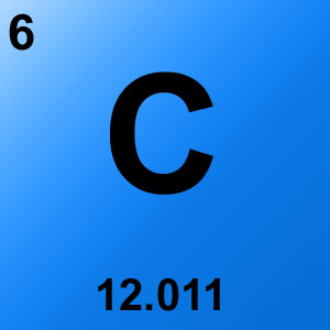 Periodic Table Elements Game Option - carbon