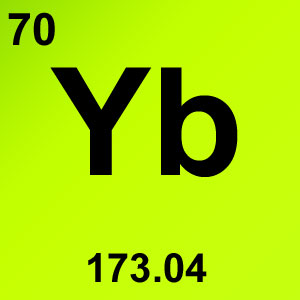 Periodic Table Element Game Option - ytterbium