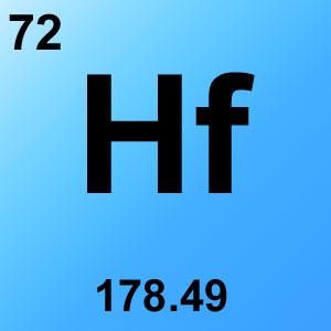 Periodic Table Elements Game Option - hafnium