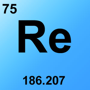 Periodic Table Elements Game Option - rhenium