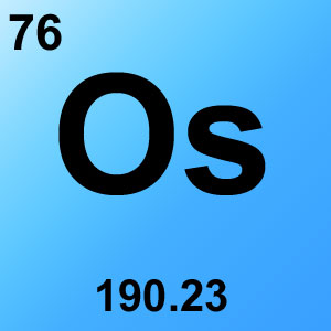 Periodic Table Elements Game Option - osmium
