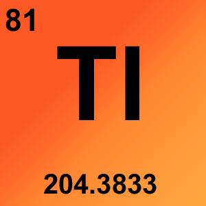 Periodic Table Elements Game Option - thallium