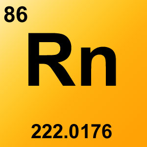 Periodic Table Elements Game Option - radon