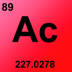 Periodic Table Element Game Option - actinium