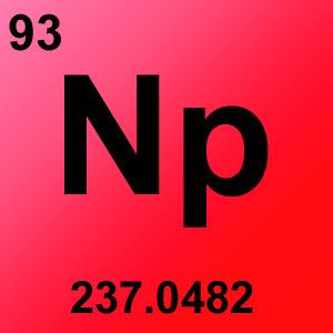 Periodic Table Elements Game Option - neptunium