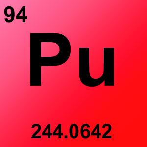 Periodic Table Elements Game Option - plutonium