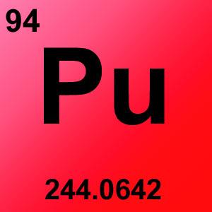 Periodic Table Element Game Option - plutonium