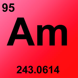 Periodic Table Elements Game Option - americium