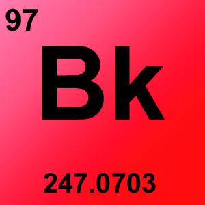 Periodic Table Element Game Option - berkelium