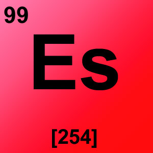 Periodic Table Elements Game Option - einsteinium