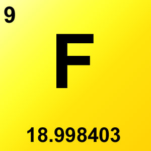 Periodic Table Elements Game Option - flourine
