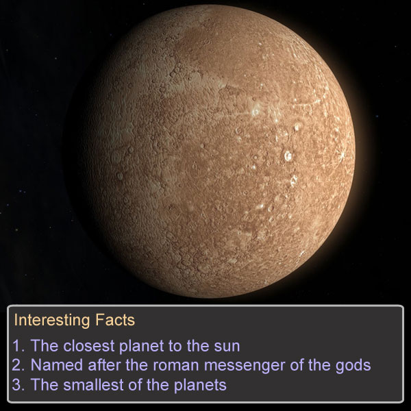The Planets Game Option - mercury