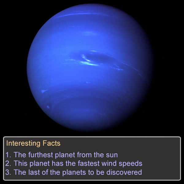The Planets Game Option - neptune